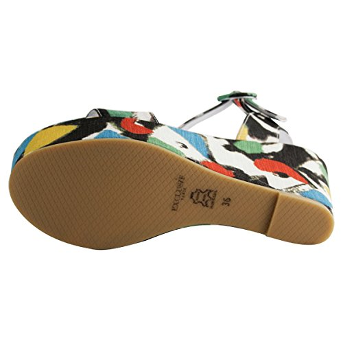 Sandals Women's Exclusif Multicolored Paris Fashion ptSwqRw5a