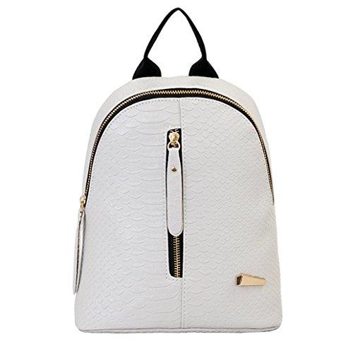Outsta Travel Shoulder Bag,Women Leather Backpacks Schoolbags Lightweight