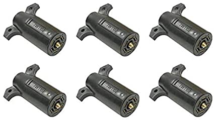 POLLAK RV Trailer 7-Way Connector Plug 1 12-706 Wiring Connector