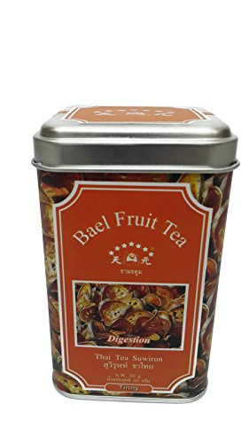 Smileshops Suwirun Tinny Bael Fruit Tea ,Dried Organic Bael Fruit Tea 1box