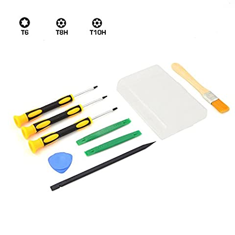 T8 T6 T10 Screwdriver Tool for Xbox One Xbox 360 PS3 PS4 Prying Kit Repair Tool (How Do You Use Th)