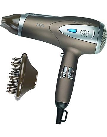 AEG HTD 5584 - Secador de pelo profesional iónico con difusor, 3 niveles de temperatura