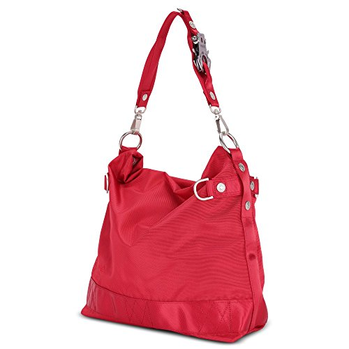 George Gina & Lucy Nylon 100 Peaches Beuteltasche red_red x