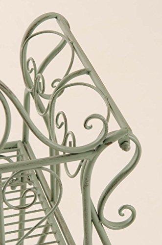 Style Clp Fer nbsp;couleurs Marron 123 46 nbsp;x Jardin Cottage De Antiques 5 Antique vert nbsp;– Laqué Choix Banc Au nbsp;jusqu'à métal nbsp;cm Minna aHnrnIxpz