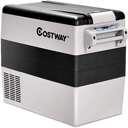 COSTWAY 55-Quart Compressor Travel RV Refrigerator
