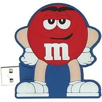 M&M USB 2 GB Flash Drive M9MD3 (Red)