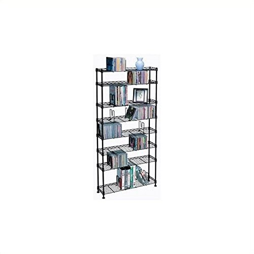 Atlantic 3020 Multimedia Storage Racks (8 shelves) by Atlantic