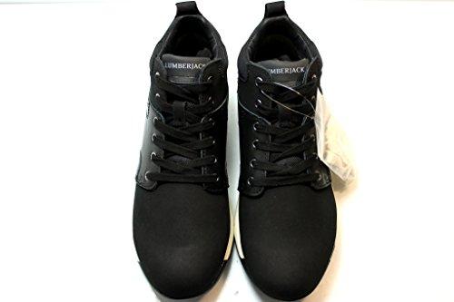 Comode Nero e Giallo Calzature Sneakers SM34505 Scarpe Lumberjack Uomo Nero 8Avcq