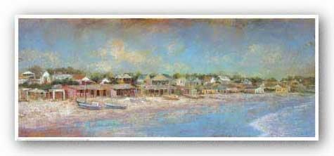 Fishing Village by Michael Longo 17.6