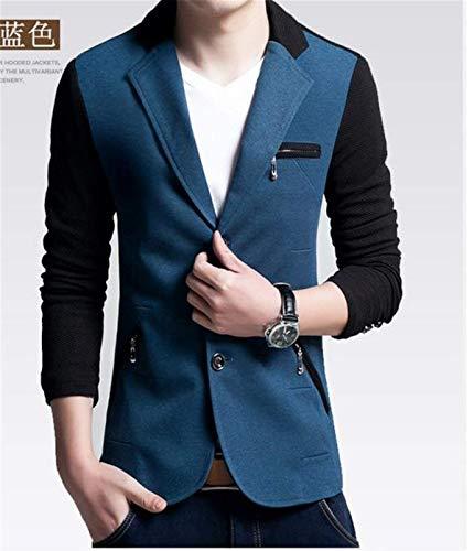 Fashion Da Uomo Saoye Blau E Tuta Giovane Uomo RUz4wx