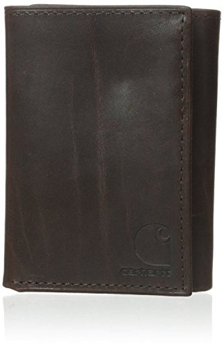 Carhartt Men's Oil Tan Trifold, Brown, One Size (Brown Oil Tan Leather)