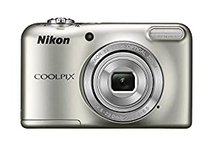 Nikon COOLPIX L31 16.1MP Compact Digital Camera 5x Optical Zoom and 2.7-inch Lens (Silver)(Certified Refurbished) by Nikon