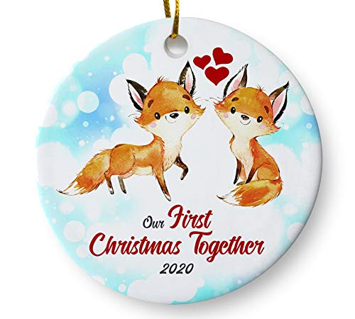A Christmas Together 2020 Amazon.com: Our First Christmas Together 2020 Fox Couples Ornament