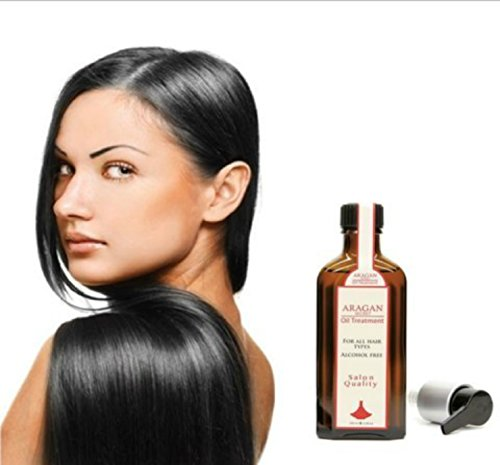 2 Bottles of Moroccan Argan Hair Oil for Ultimate Hair Shine, Health and Treatment by One & Only - Price Review Usa