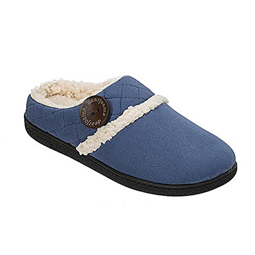 Women's w and Cuff Dearfoams Clog MF Indigo Quilted O7npq
