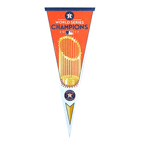 Houston Astros 2017 World Series Champions Official Licensed Vertical Pennant World Series Champions