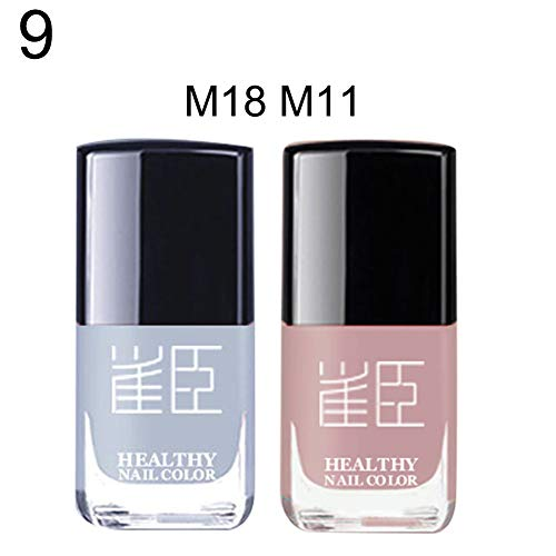 2/3Pcs Quick Dry Long Lasting Nail Polish Peel Off Waterproof Varnish Lacquer - 9#