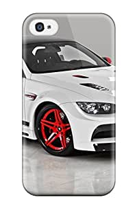 Snap-on Abstract Mobile B M W Car Pictures 3d Case Cover Skin Compatible With Iphone 4/4s