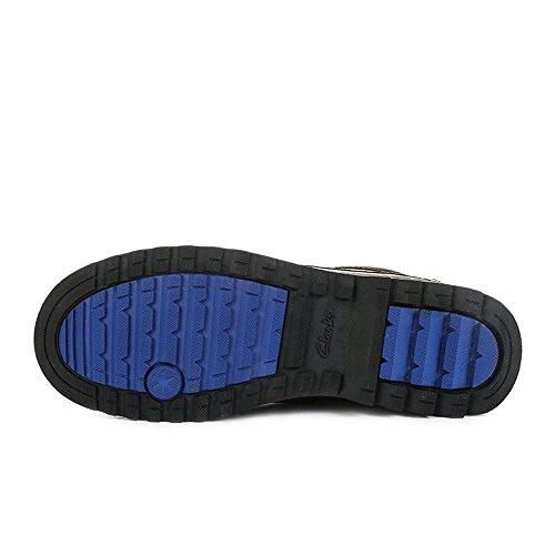 Clarks 261102628 - Zapatos de cordones de Piel para hombre Negro