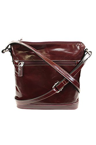 Giani Bernini Florentine Glazed Leather Venice Crossbody Bag