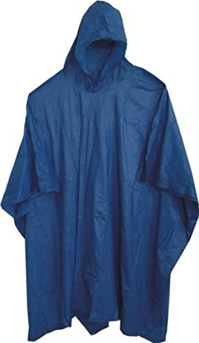 Deluxe Emergency Blue Poncho, 52