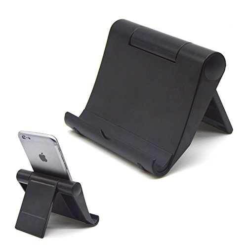 2Pcs Universal Tablet Stand, Multi-function Rotating Desktop Cell Phone Stands, Foldable Mobile Bracket For iPhone5,6,6S,6plus,6S Plus,iPad Pro Air 2,Samsung Galaxy S7,S6,S5,E-reader,ect (Environmental Rack Monitor)