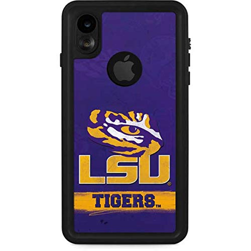 Skinit LSU Tigers iPhone XR Waterproof Case - Officially Licensed Phone Case - Fully Submersible - Snow, Dirt, Water Protected iPhone XR Cover