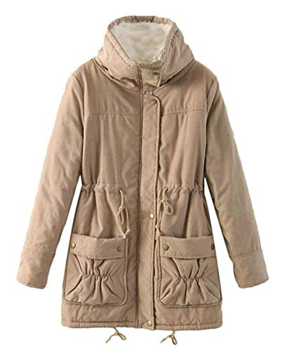 Mode Parker Jacket Velours Chic Outerwear Vintage Hiver Manches Longues Femme Automne Yw1BxB