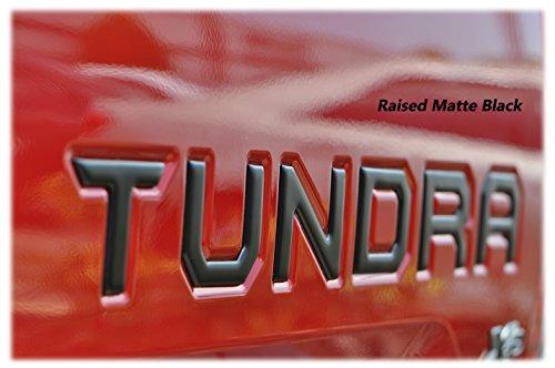 TufSkinz   6 Piece Tailgate Insert Kit (Matte Black) - Fits 2014-up Tundra Models (Matte Black)