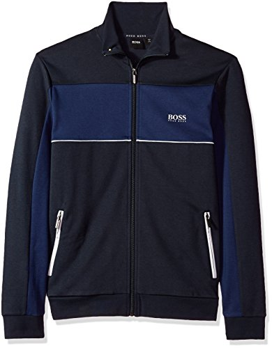 Hugo Boss Boss Men's Tracksuit Jacket 10205567 01, Dark Blue, XXL by Hugo Boss