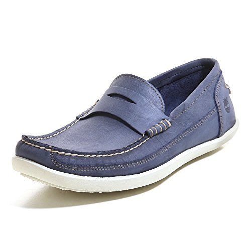 Timberland PENNY BEEF ROLL Loafer Hombres navy antique milled brunido