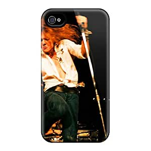 Great Hard Phone Case For Iphone 4/4s (Vdo3252zBfY) Customized Stylish Red Hot Chili Peppers Pictures