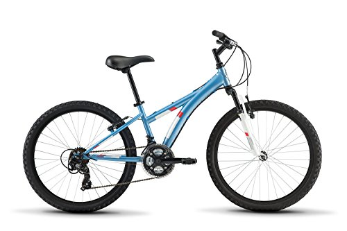 Diamondback Bicycles Tess 24 Youth Girls 24' Wheel Mountain Bike, Blue