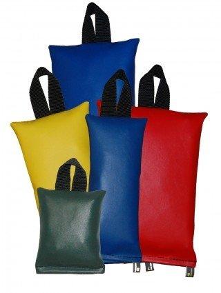 Patient Positioning Sandbags - Set of 5 Sandbags, 1-lb, 2-lb, 3-lb, 5-lb, 7-lb, Available in 6 Colors