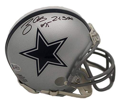 Helmet Riddell Champs Mini (Tony Casillas Autographed/Signed Dallas Cowboys Mini Helmet 2x Champs BAS)