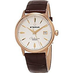 Eterna Heritage Centenaire Date Men's Swiss Rose Gold Automatic Watch 2960.69.11.1272