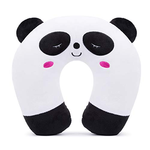 Kids Travel Pillow Animal Neck Pillow Support U Shaped Cushion Plush for Airplane Train Child's Neck Pillow for Kids…