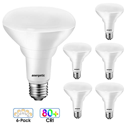 [Energy Star] LED BR30 Flood Light Bulbs Indoor, Daylight 5000K, Dimmable, 65 Watts Recessed Light Bulbs for Cans, 750…