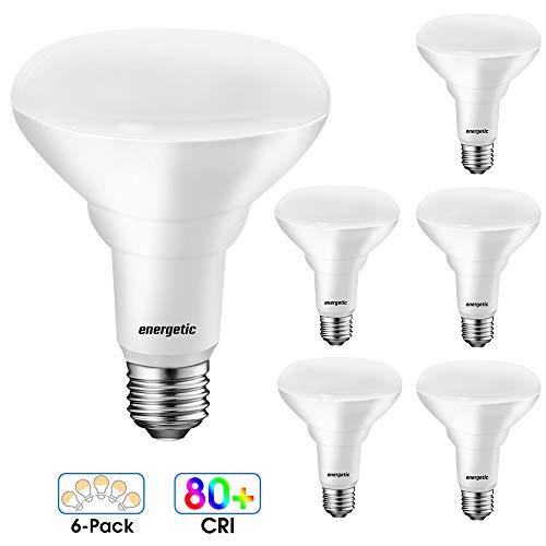 [Energy Star] LED BR30 Flood Light Bulbs Indoor, Daylight 5000K, Dimmable, 65 Watts Recessed Light Bulbs for Cans, 750…