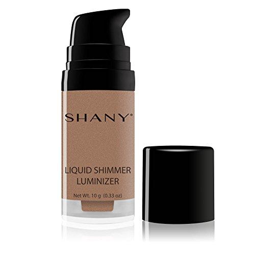 SHANY Paraben Free HD Liquid Shimmer Luminizer, Bronze Glow