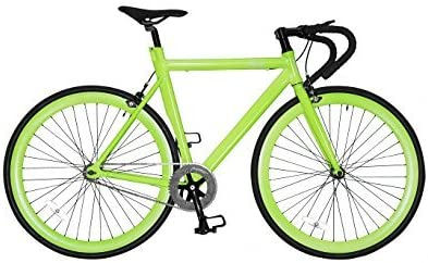 Novabikes Bicicleta Fixie de piñon fijo, cuadro 52 CM, ruedas 28 ...