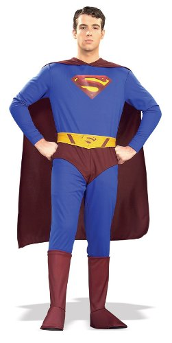 Returns Costume Superman Belt (Rubie's Costume Superman Returns Adult Complete, Blue/Red, Medium)