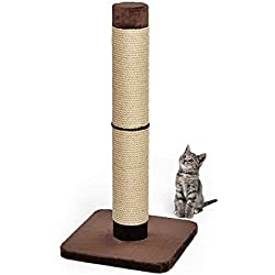 MidWest Homes for Pets Cat Scratching Post | Forte Huge Cat Scratching Post w/Extra-Durable Sisal Wrap, Brown & Tan, Giant XXL Cat Post