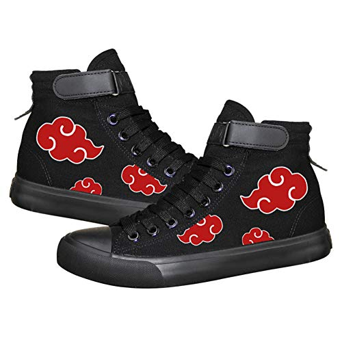 a1f716174775c Telacos Naruto Anime Uchiha Itachi Cosplay Shoes Costume Canvas Shoes  Sneakers