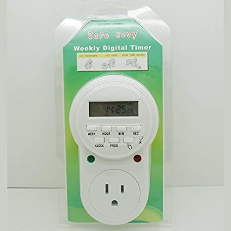 Jude casa enchufe enchufe Digital programable temporizador (etu-63 a)