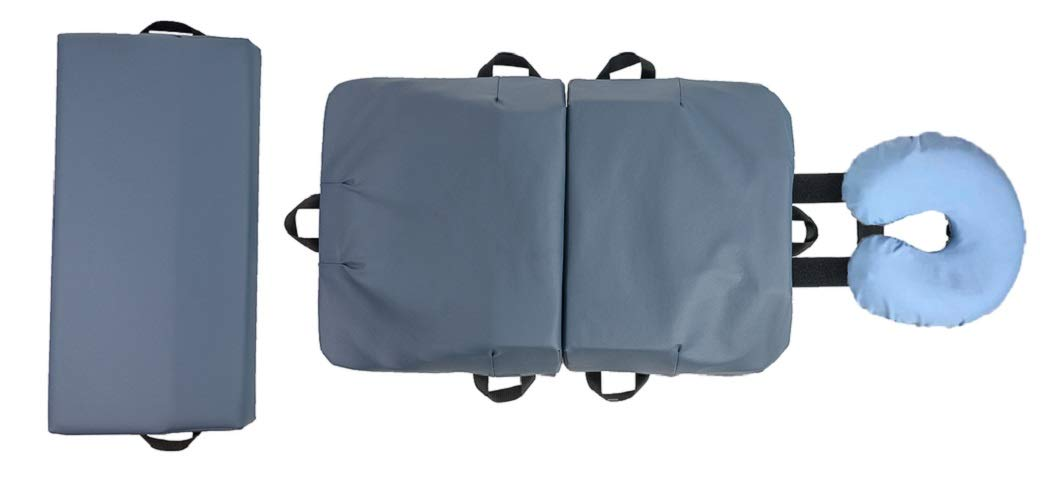 Body Support Systems BC440 4-Piece Original BodyCushion Slate Blue by Body Support Systems