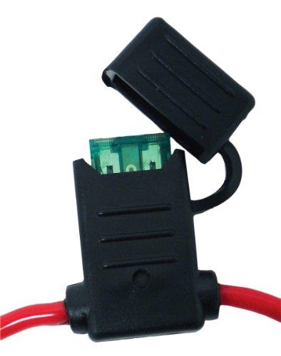 Holder Line Fuse (Attwood 14347-6 In-Line Fuse Holder/ATO-ATC (30 Amp, 12 Gauge))