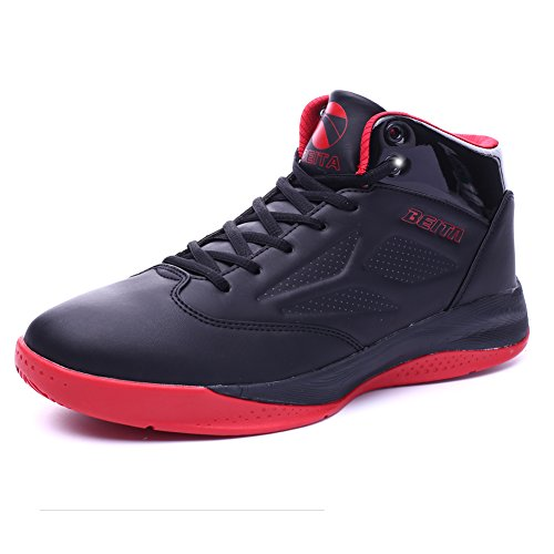 QZbeita Performance Herren Cloudfoam Ilation Mid Basketballschuh Schwarz