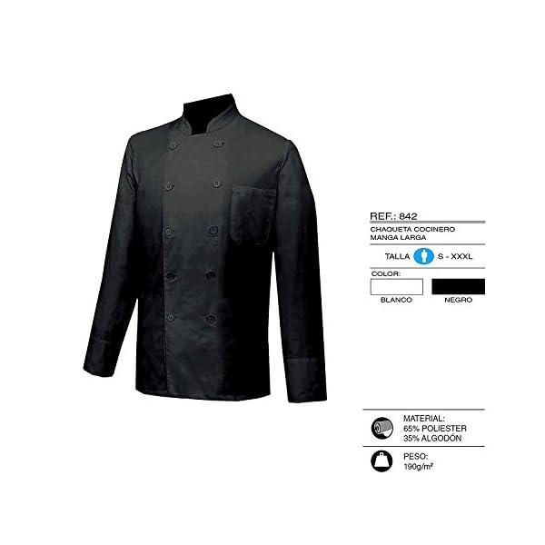 MISEMIYA Chaquetas Chef Cocineros Mangas Largas Camisa de utilidades de Trabajo para Hombre 3
