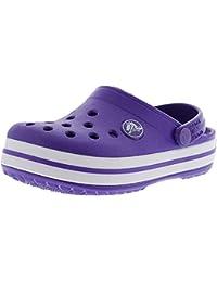 Kids Crocband Clog Ltd Ultraviolet/White Clogs - 6M